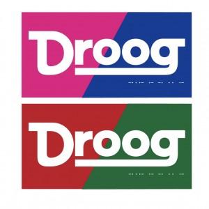 Droogロゴステッカー